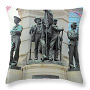 Of Soldiers And Sailors Throw Pillow