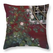 Of The Moment Throw Pillow
