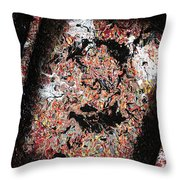 Off-kilter Throw Pillow