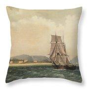 Off Mount Desert Island, Maine Throw Pillow