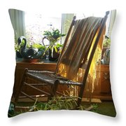 Off My Rocker - Photograph Throw Pillow