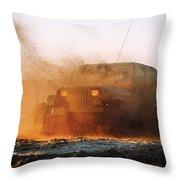 Off Road Mud Splash-2 Throw Pillow