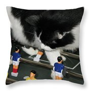 Off Side Throw Pillow