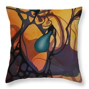 Off Stepping Throw Pillow
