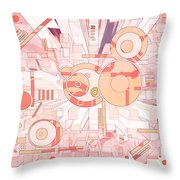 Off The Grid 35 Throw Pillow