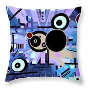 Off The Grid 61 Throw Pillow