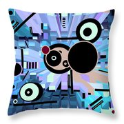 Off The Grid 62 Throw Pillow