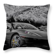 Off The Track Throw Pillow