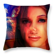 Off Topic With Melinda. Throw Pillow