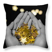 Offering Dreams Throw Pillow