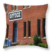 Office #2 Throw Pillow