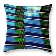 Office Abstract Throw Pillow