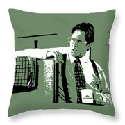 Office Space Bill Lumbergh Movie Quote Poster Series 002 Throw Pillow