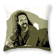 Office Space Lawrence Diedrich Bader Movie Quote Poster Series 006 Throw Pillow