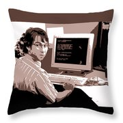 Office Space Michael Bolton Movie Quote Poster Series 004 Throw Pillow