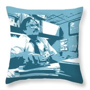Office Space Milton Waddams Movie Quote Poster Series 003 Throw Pillow
