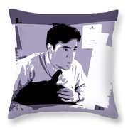 Office Space Peter Gibbons Movie Quote Poster Series 001 Throw Pillow