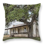 Officer's Quarters Throw Pillow