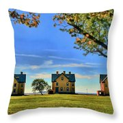 Officer's Row Throw Pillow