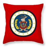 Official Odd Squad Seal Throw Pillow