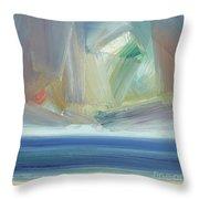 Offshore, Ross Sands Throw Pillow