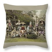 Ogawa, Kazumasa Sights And Scenes In Fair Japan. Throw Pillow
