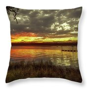 Ogi Sunset Throw Pillow