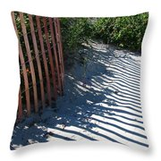 Ogunquit Shadows Throw Pillow