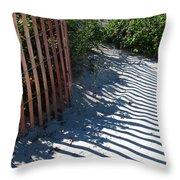 Ogunquit Shadows Throw Pillow