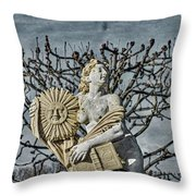 Oh, Beautiful Sun, When Will You Make Everything Green Agein? Throw Pillow