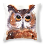 Oh Boy Throw Pillow