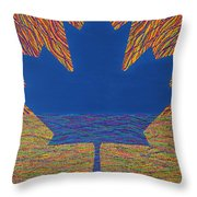 Oh Canada 2 Throw Pillow
