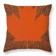 Oh Canada 5 Throw Pillow