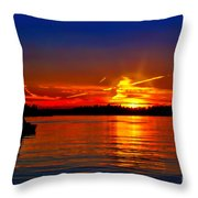Oh Canada Throw Pillow