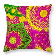 Oh Dont Forget This Joy - Pink Edition Throw Pillow