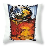 Oh My Gouache Throw Pillow