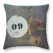 Oh Nine Throw Pillow