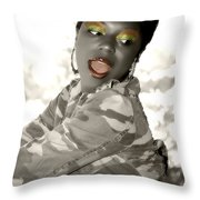 Oh Oh Throw Pillow
