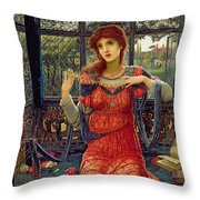 Oh Swallow Swallow Throw Pillow