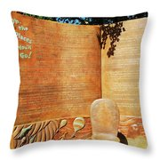 Oh The Place Youll Go  Throw Pillow