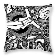 Oh Universe I Am Yours Throw Pillow