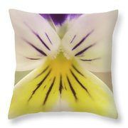 Oh Violet Nature Photo Throw Pillow