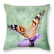 Oh What A Lady Throw Pillow