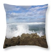 Ohau Splash Throw Pillow