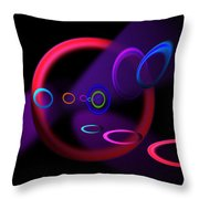 Ohhhhhhhhhh Throw Pillow