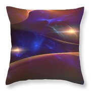 Oiche An Earraigh Throw Pillow