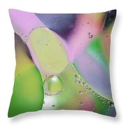 Oil 3 Throw Pillow