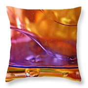 Oil And Water 14 Throw Pillow