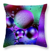 Oil And Water 2 Throw Pillow