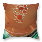 Oil And Water 22 Throw Pillow
